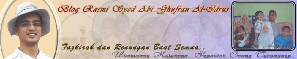 Blog Rasmi YM Syed Abi Ghufran Al-Idrus