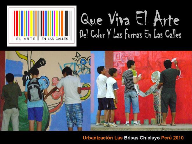 arte urbano en la Urbanización LAS BRISAS - CHICLAYO