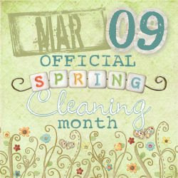 March--My Official Spring Cleaning Month