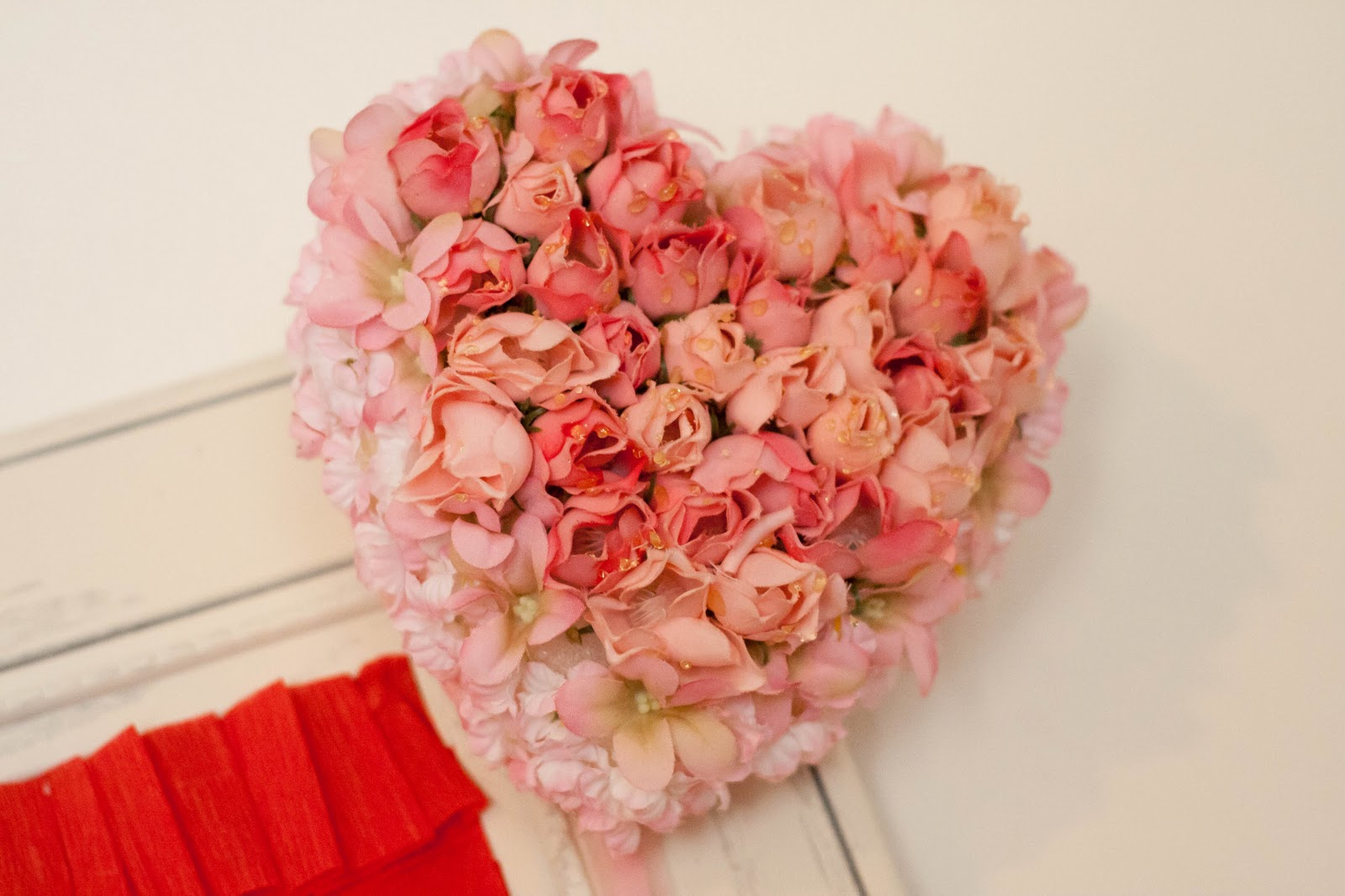 How To Make A Heart Shaped Floral Arrangement For Valentines Day