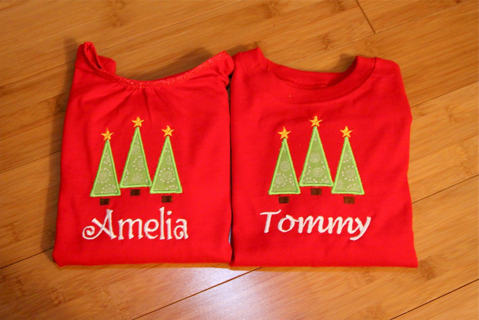 Another Online Mom: Personalized Christmas Shirts