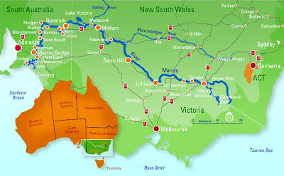 A Study Of Salt Part Australian Murray River Pink Salt - 2 largest rivers in the world