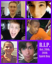 Facebook Page For 13 Young Gay Suicides Wear Purple Oct 20