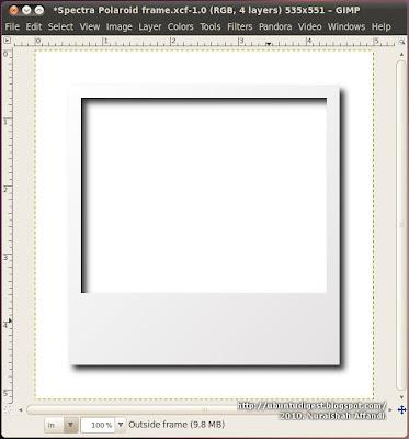 Ubuntu Digest: Polaroid frame effect using GIMP [Update]