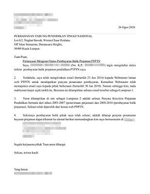 Surat+rasmi+kepada+PTPTN+%28status+pembayaran+&+Surat+Pelepasan+Pinjaman+Pendidikan+PTPTN%29