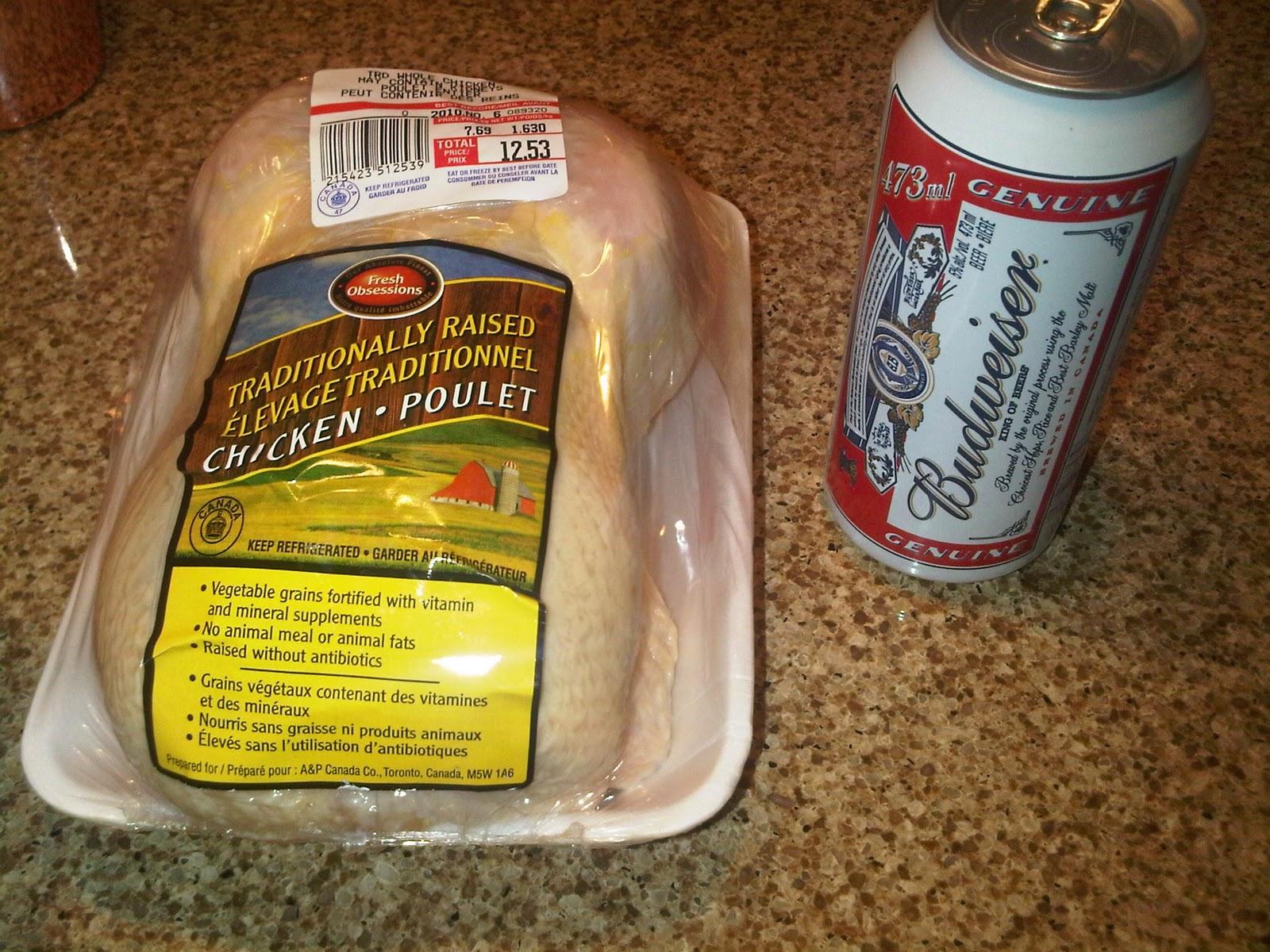 how to cook beer butt chicken