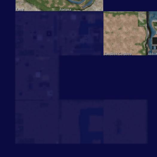ベータグリッドマップ・半透明のエリア