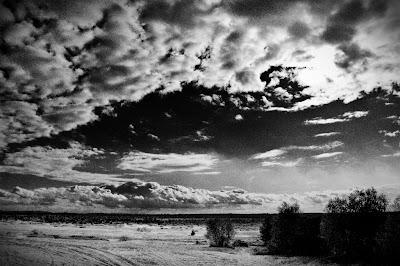 Pustynia błędowska. Dotknięcie Pustki. Fotografia krajobrazu pustych przestrzeni. fot. Łukasz Cyrus, Ruda Śląska.