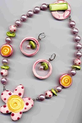Loves Me Necklace & Earrings - Katie Hacker
