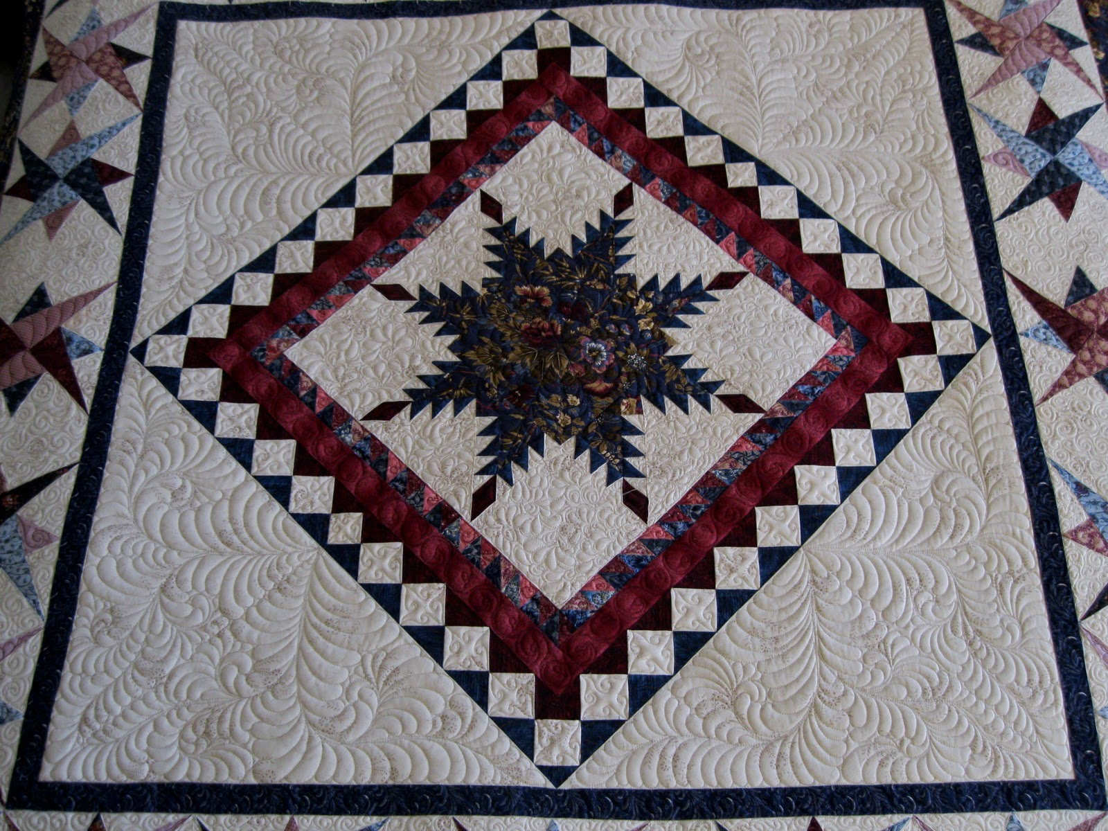 Grammy's Quilting: Kristi's Quilt : feathered star quilts - Adamdwight.com