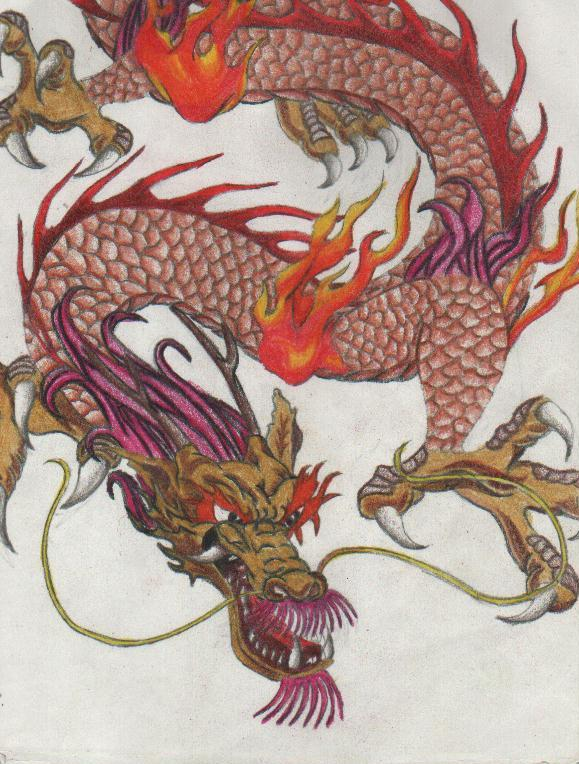 of a Divine disposition, as portrayed by the wise Chinese dragon