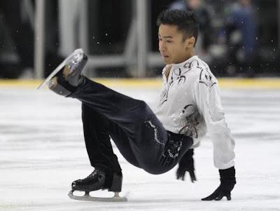 figure skating falls