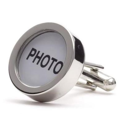 photo cufflinks