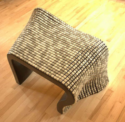 Keyboard recycled chair Seen On www.coolpicturegallery.net