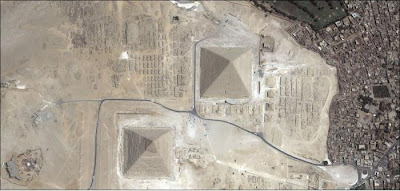Google geoeye satellite