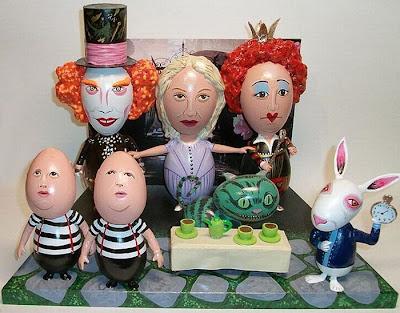 Easter egg celebrities