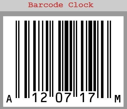 Label Cartoon Barcodes Unique Barcode Weird