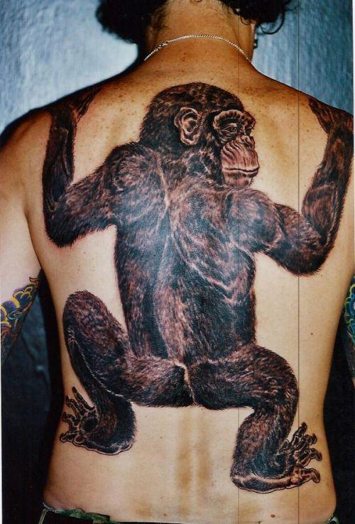 Funny monkey tattoos ~ LikePage