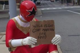 Pahlawan kekurangan uang