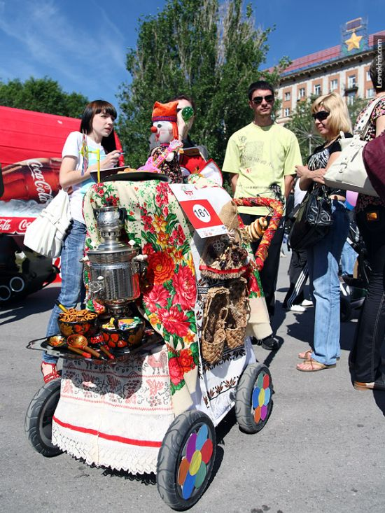 55 unusual baby carriages strollers Unusual-baby-carriages-48