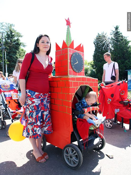 55 unusual baby carriages strollers Unusual-baby-carriages-04