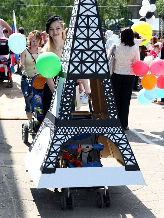 55 unusual baby carriages strollers Unusual-baby-carriages-11