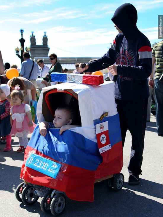 55 unusual baby carriages strollers Unusual-baby-carriages-06