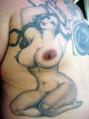 Weird, Unusual Male Tattoos(