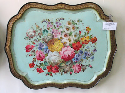Beautiful painted Trays Seen On www.coolpicturegallery.net