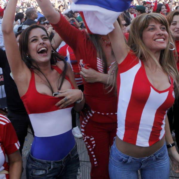 Paraguay lingerie model Larissa Riquelme Will Run Naked If