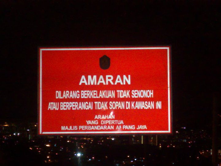 "atuk pergi Bukit Bintang je.. main buih.."""