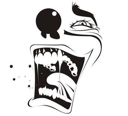 mundo dos desenhos palhaços do mal