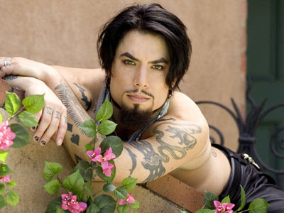 dave navarro shirtless