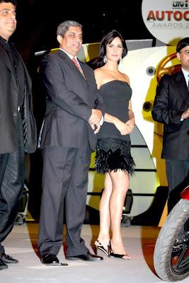 Katrina Kaif at the Auto Car Awards 2009