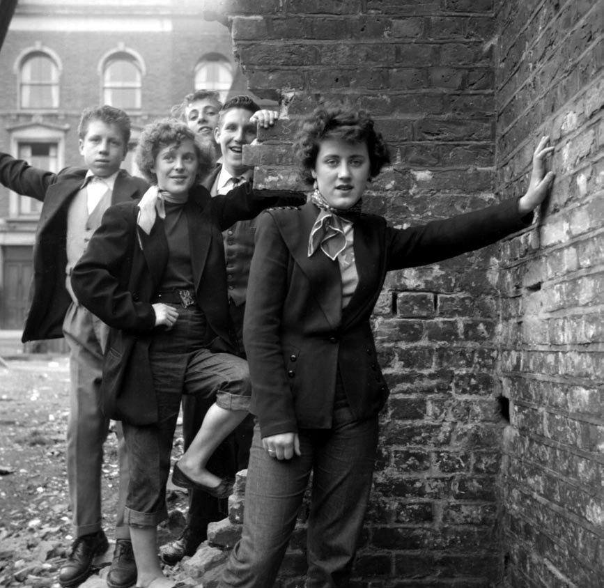 Andi B. Goode: 1950s Subculture: Teddy Girls