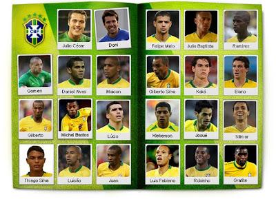 Álbum Seleção Brasileira