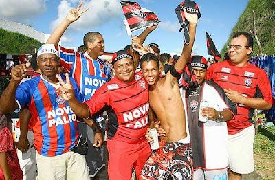 Torcidas Bahia e Vitória