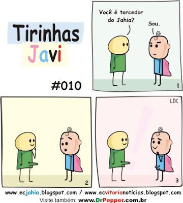 Tirinhas de humor Javi n.º 010