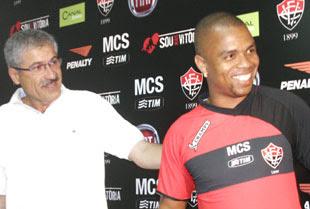Foto da nova camisa do Vitória 2009 - Champs - padrão 1