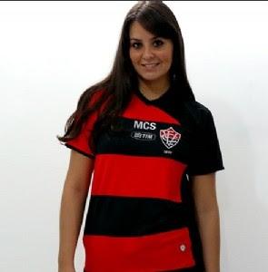 Foto: camisa padrão 2009