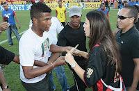 Foto: Viáfara e Ivete Sangalo no Barradão