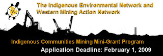 Indigenous Communities Mining Mini-Grant Program