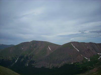 Engelman Peak and Robeson Peak