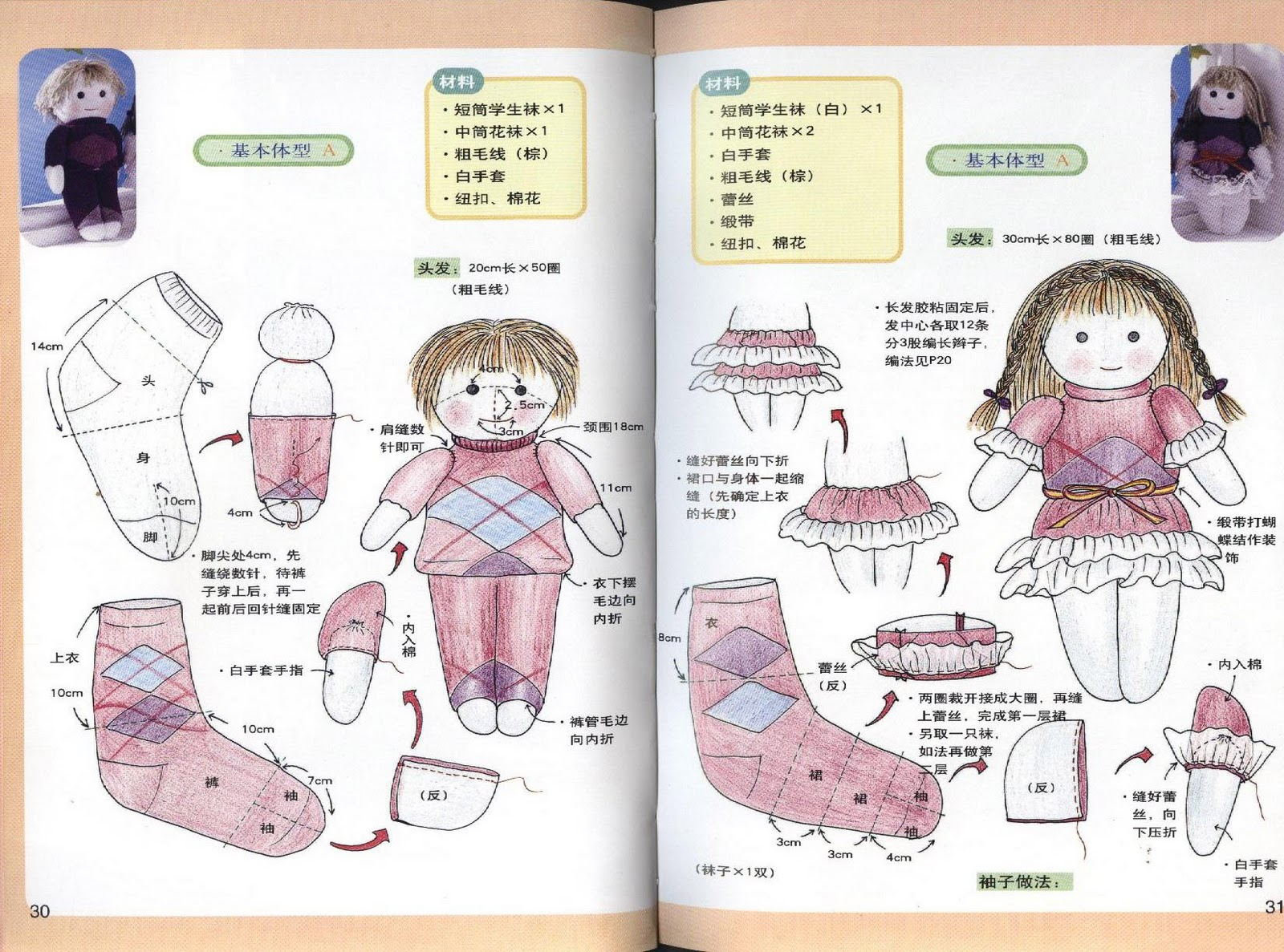 Как сделать из носков куклу своими руками 567