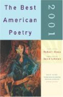 The Best American Poetry 2001 edited by Robert Hass