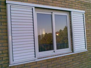 Practicor todo en aluminio clases de ventanas ix for Porticones madera exteriores