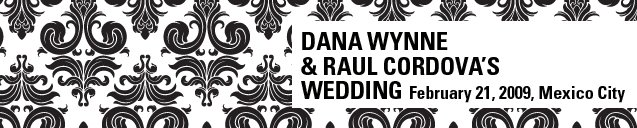 Dana Wynne and Raul Cordova's Wedding