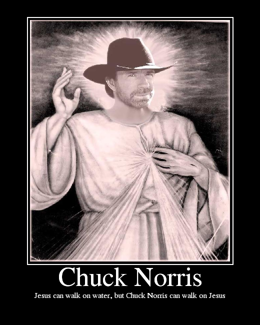 And manufacturers are inspired by Chuck Norris.