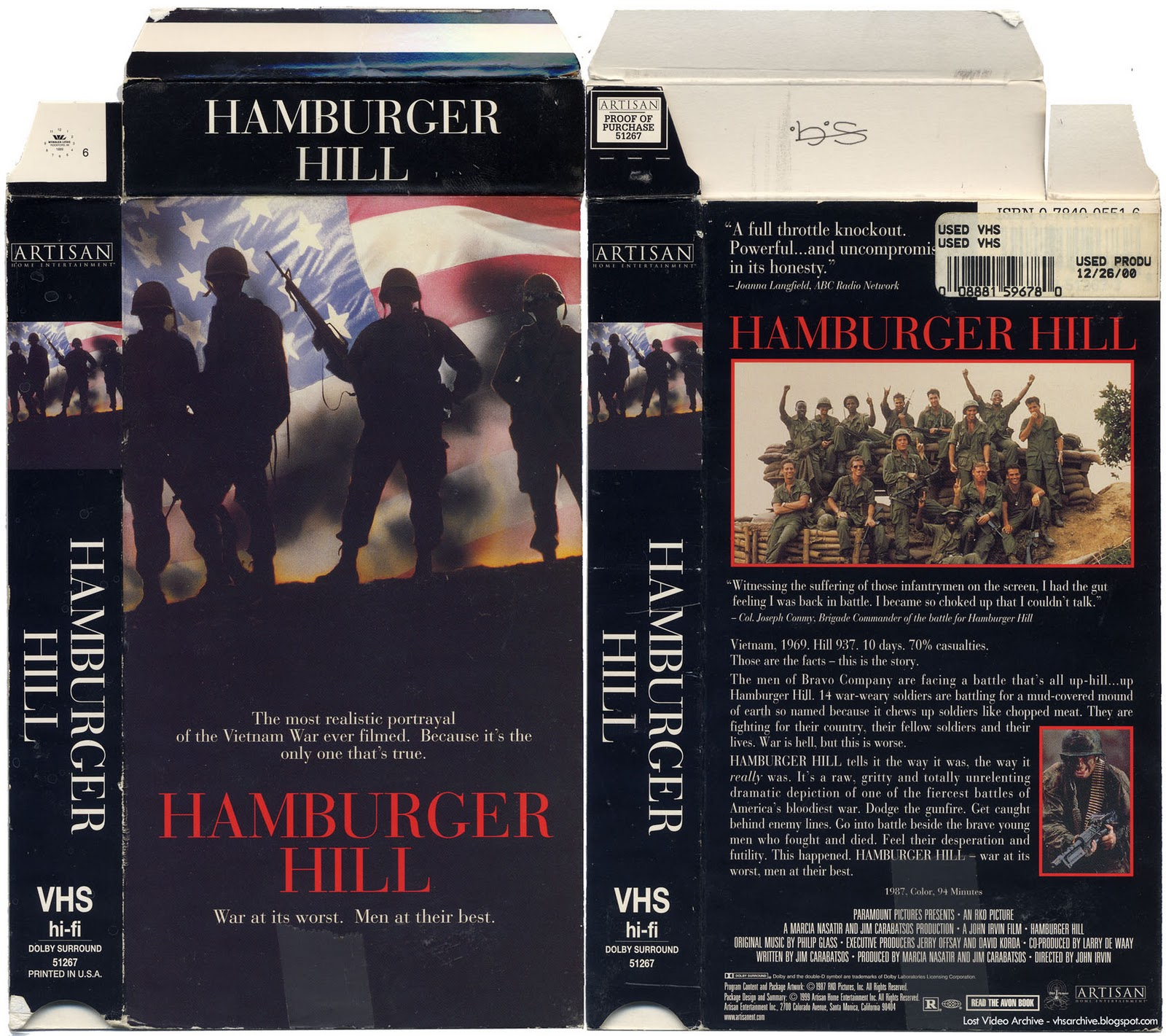 Hamburger Hill Lost Video Archive Hamburger Hill 1600x1421 Movie-index.com
