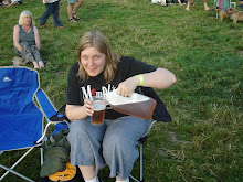 Liz The Party Animal at Cropredy